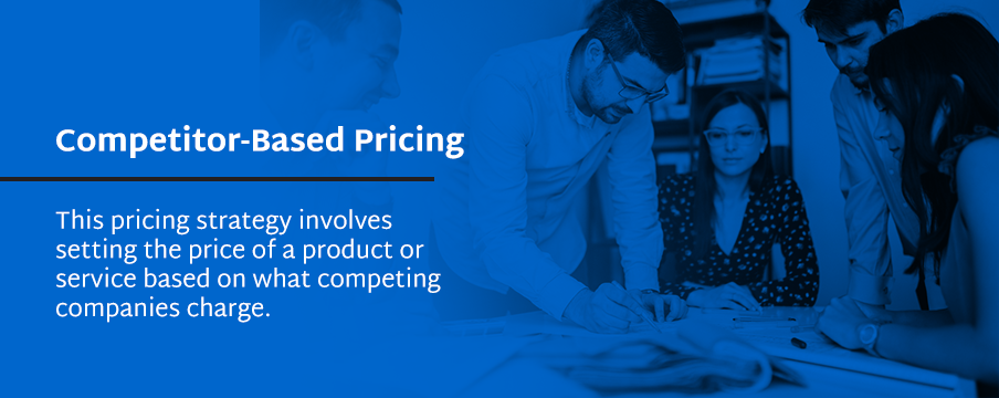 compare to competitor based pricing