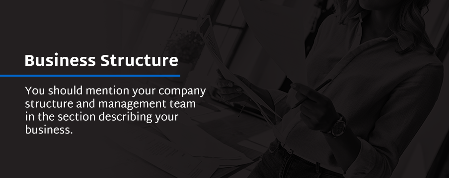 determine your business structure