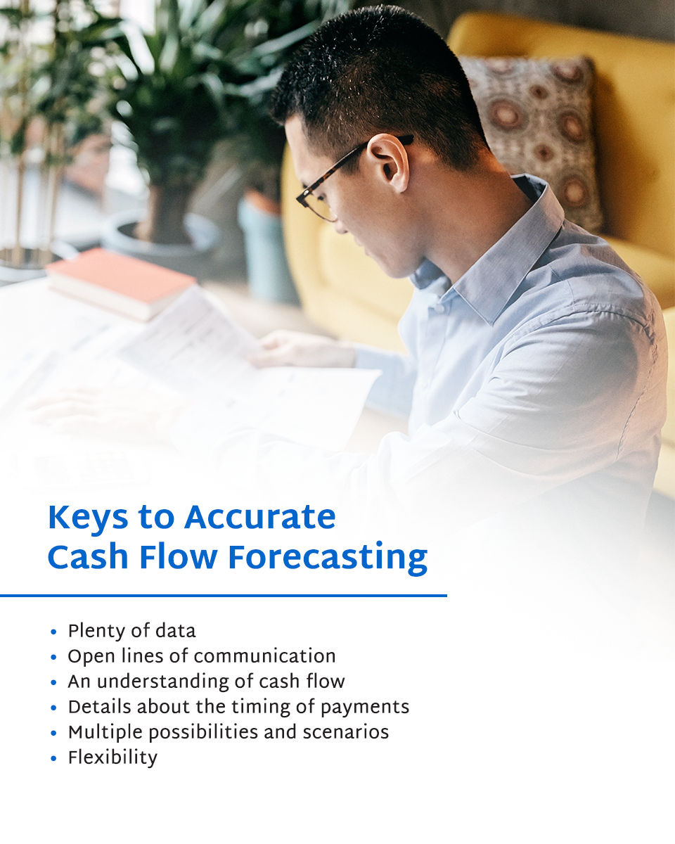 keys to accurate cash flow forecast