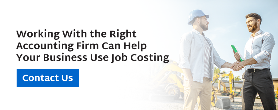 contact a firm who are experts in job costing