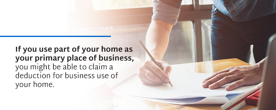 Use Your Home As Your Primary Place Of Business