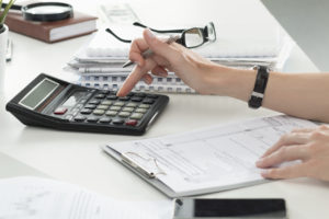 financial calculations for real estate companies